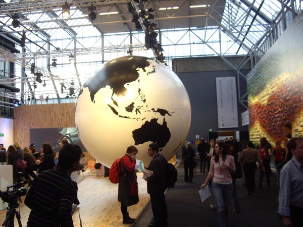 Конференция по климату в Белла-центре в Копенгагене