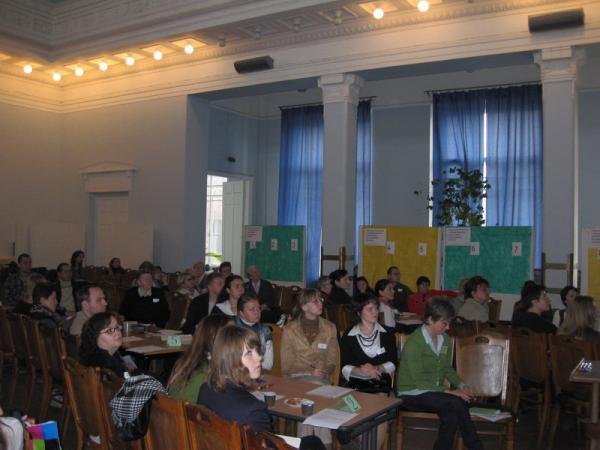 участники Дня общественных консультаций по изменению климата