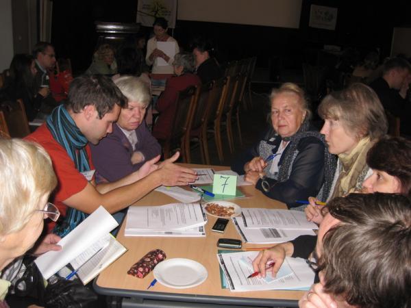 Группы обсуждают отношение  к изменению климата и политическим шагам по борьбе с проблемой