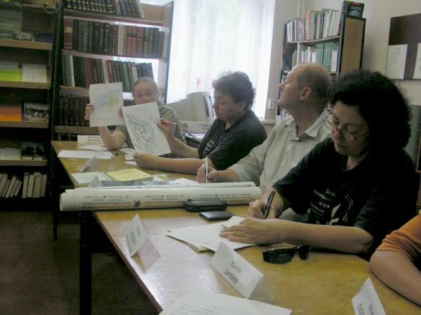 Брифинг с местными журналистами в Медвежьегорске